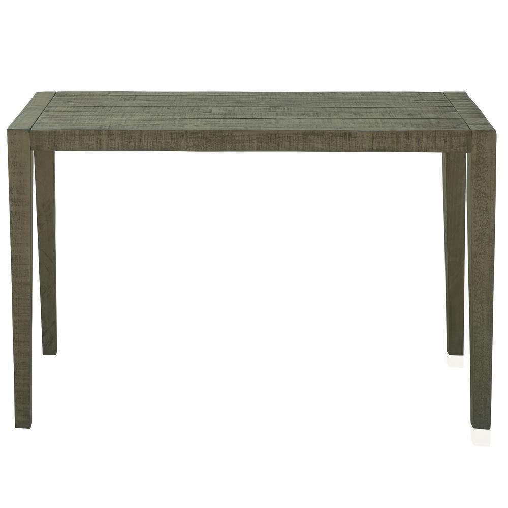 Ashford 47 in. Gray Rectangular Reclaimed Wood Home Office Desk