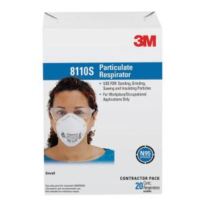 3m N95 Sanding Painted Surfaces Respirator Dust Mask 20