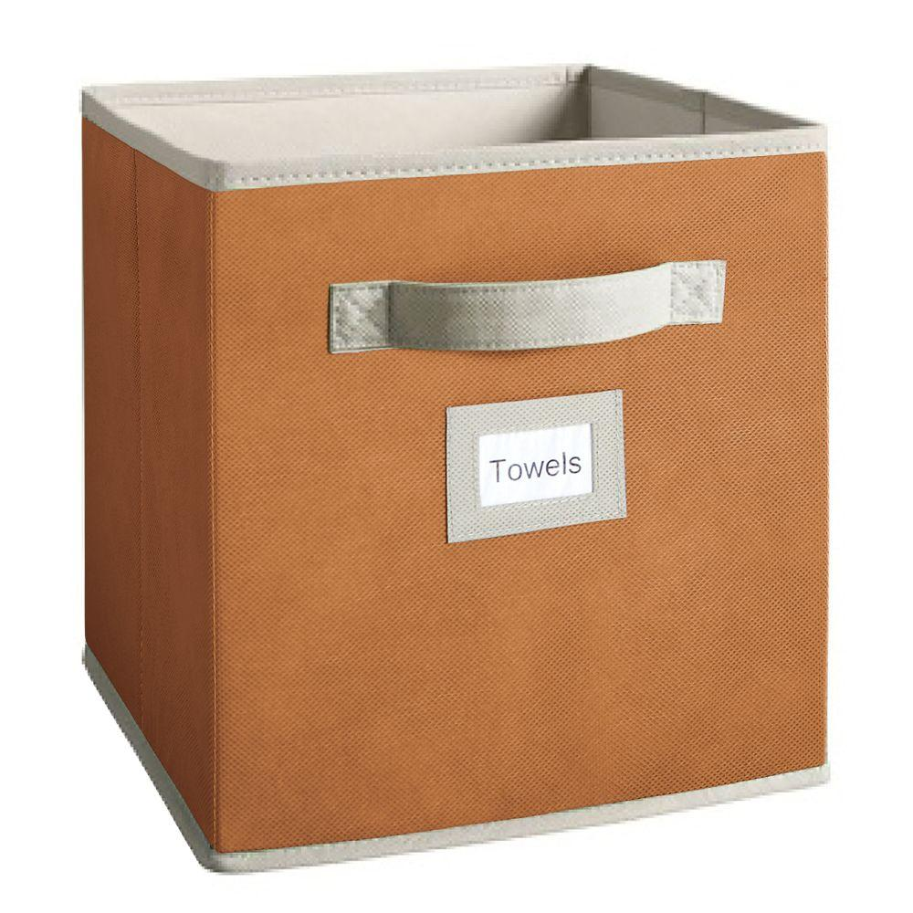 Martha Stewart Living 10-1/2 in. x 11 in. Butterscotch Fabric Drawer