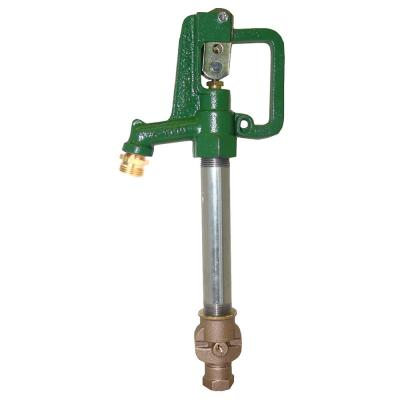 5 ft. Bury C1000 Series No Lead Yard Hydrant with Galvanized Steel Standpipe and No Lead Brass Valve Body