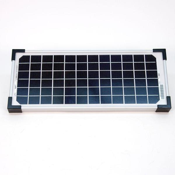 Mighty Mule 10 Watt Solar Panel Kit For Electric Gate Opener Fm123 The Home Depot