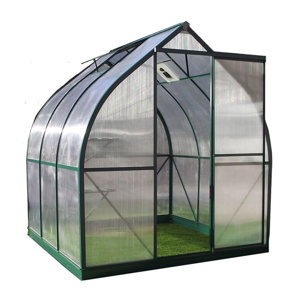 null Tulip 6 ft. 10 in. W x 7 ft. 3 in. Long Greenhouse