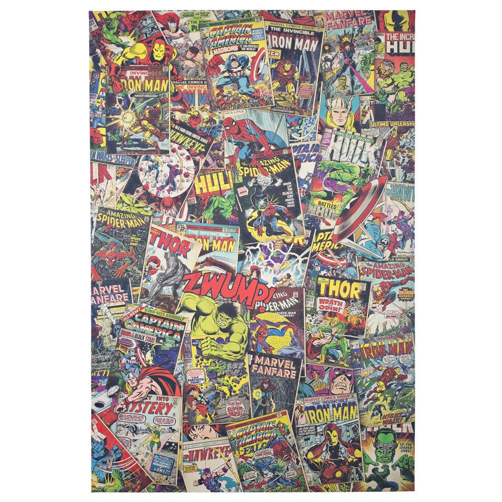 American Art Decor Licensed Marvel Comics Avengers Comic Book Covers