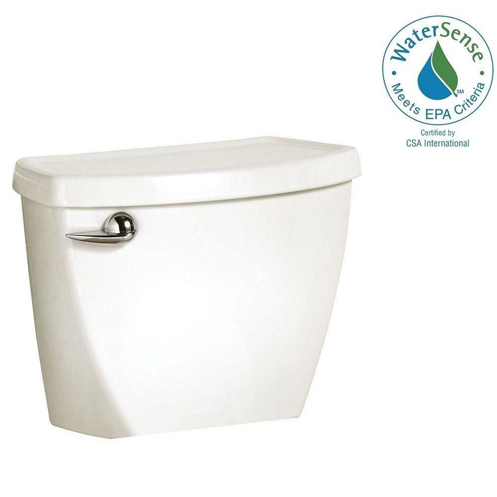 Cadet 3 1.6 GPF Single Flush Toilet Tank Only in White