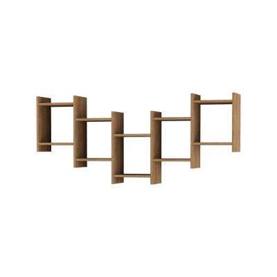 Willett Oak Modern Wall Shelf
