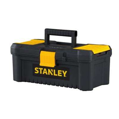 Essential 12-1/2 in. Tool Box with Lid Organizers