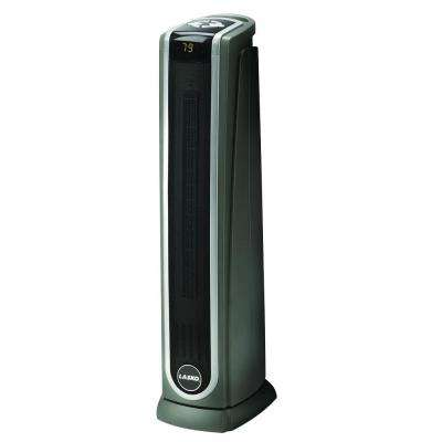 1,500 Watt Electric Portable Ceramic Tower Heater with Logic Center Remote Control
