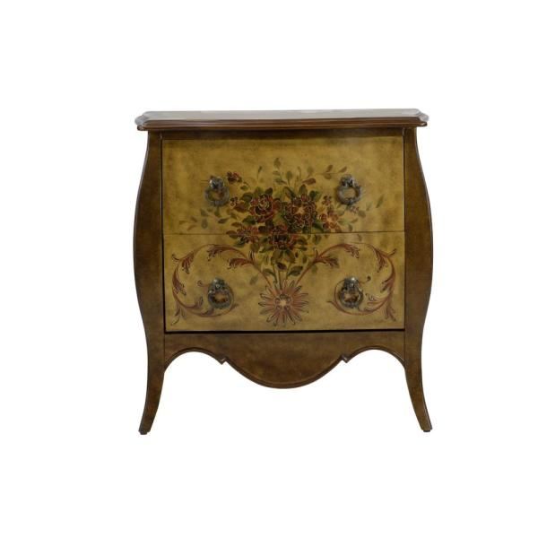 Astonishing Bombay 2 Drawer Natural Accent Chest Dws 343 The Home Depot Beatyapartments Chair Design Images Beatyapartmentscom