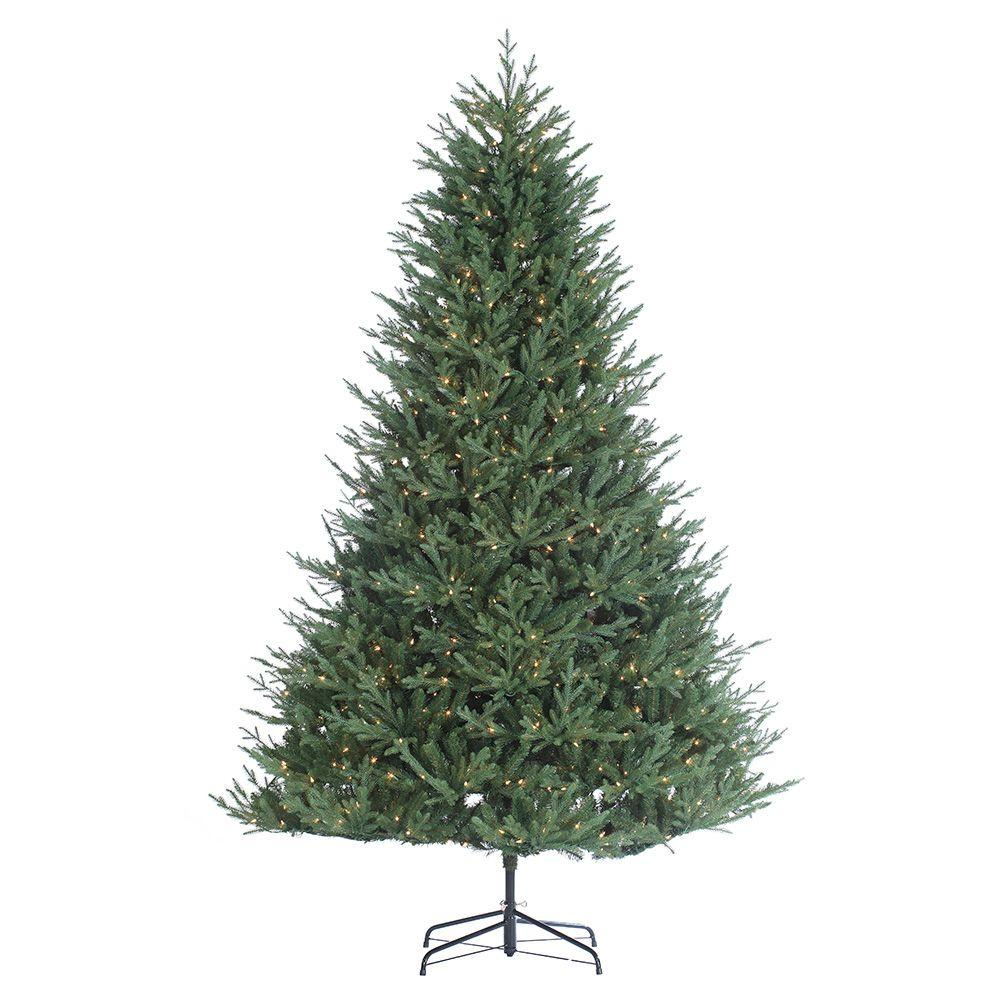 Sterling 9 ft. Pre-Lit Kentucky Fir Artificial Christmas Tree-6268 ...