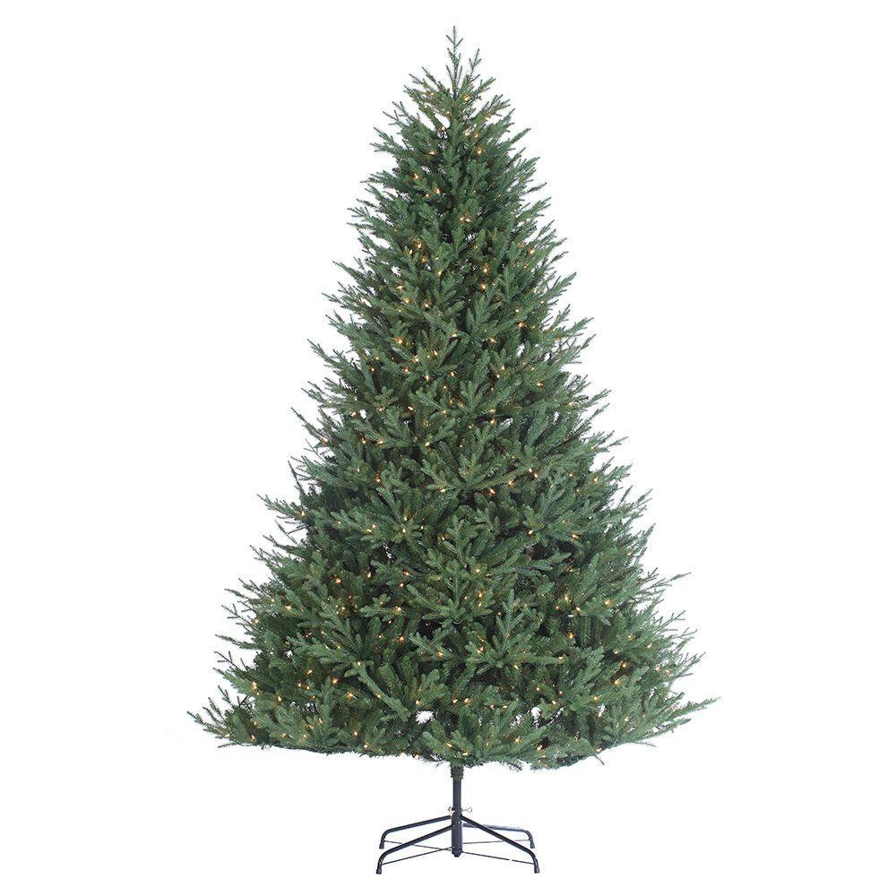 9 ft. Pre-Lit Kentucky Fir Artificial Christmas Tree