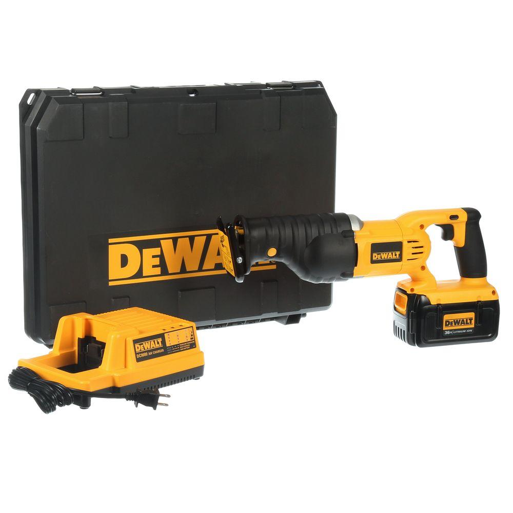 DEWALT 36-Volt Lithium-Ion Cordless Reciprocating Saw Kit