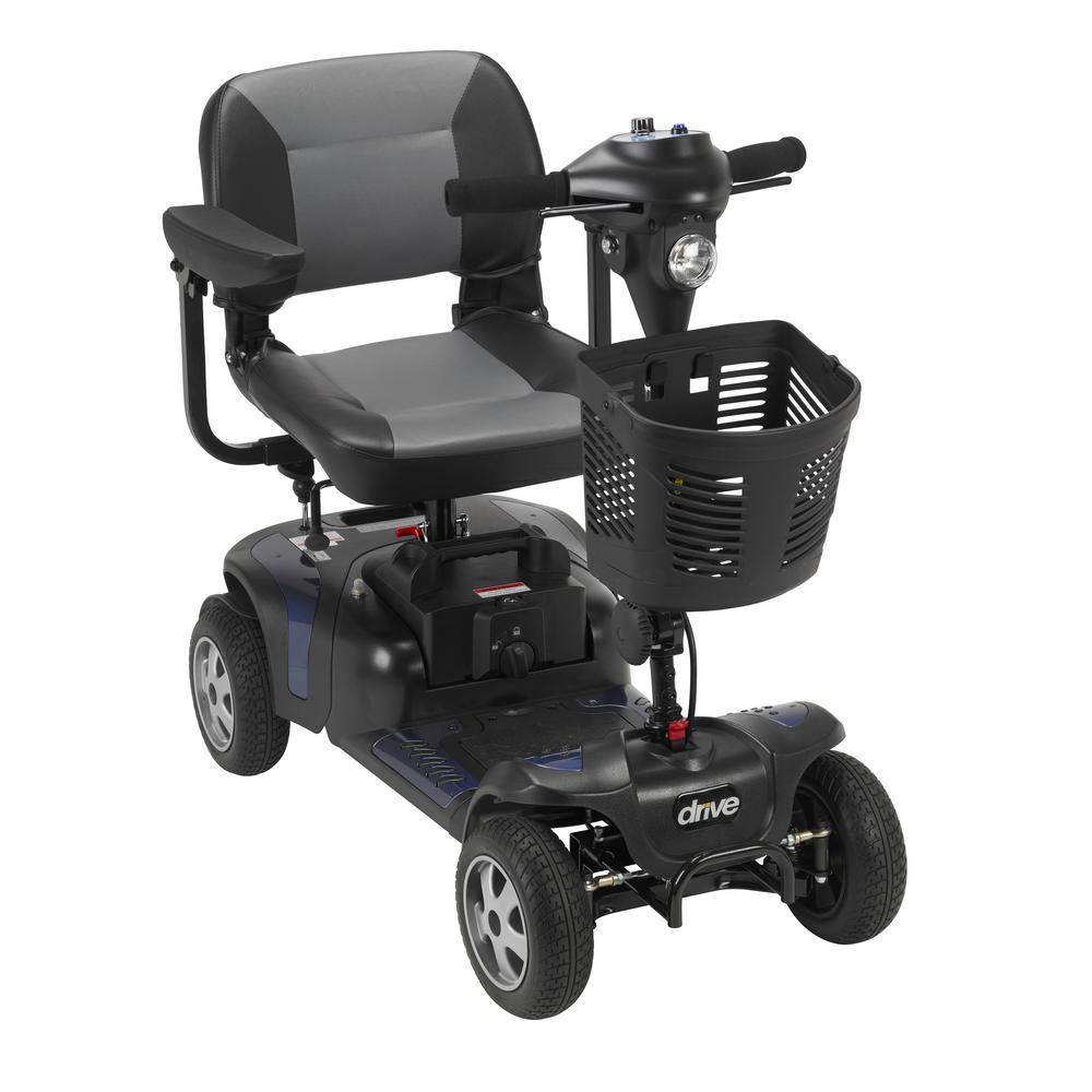 Drive Phoenix Heavy Duty 4-Wheel Power Scooter 18 in. Seat