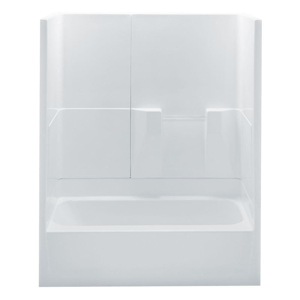 60 in. x 30 in. x 72 in. Bath and Shower