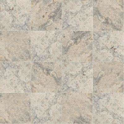 Silver 16 in. x 16 in. Tumbled Travertine Paver Tile (20 Pieces / 35.6 Sq. ft. / Pallet)