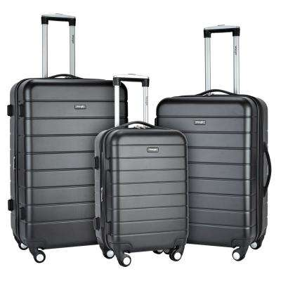 3-Piece Hardside Luggage Collection with Spinner Wheels