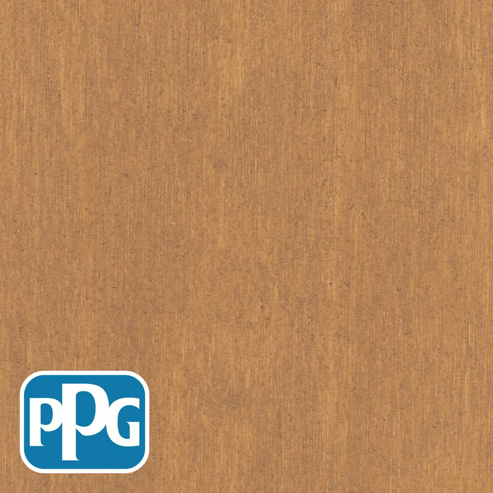 PPG TIMELESS 1 gal. TSN-2 Cedar Satin Semi-Transparent Advanced Oil Exterior Wood Stain