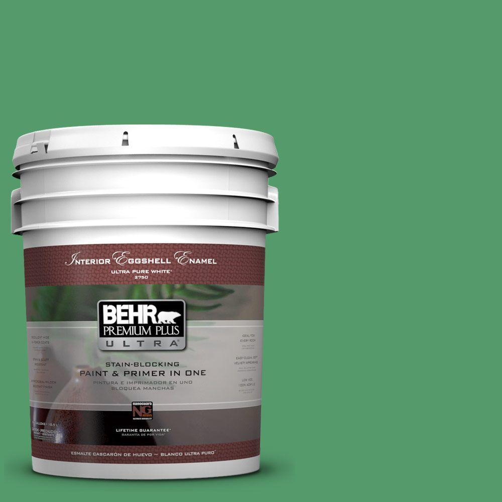 BEHR Premium Plus Ultra 5-gal. #P410-6 Solitary Tree Eggshell Enamel Interior Paint