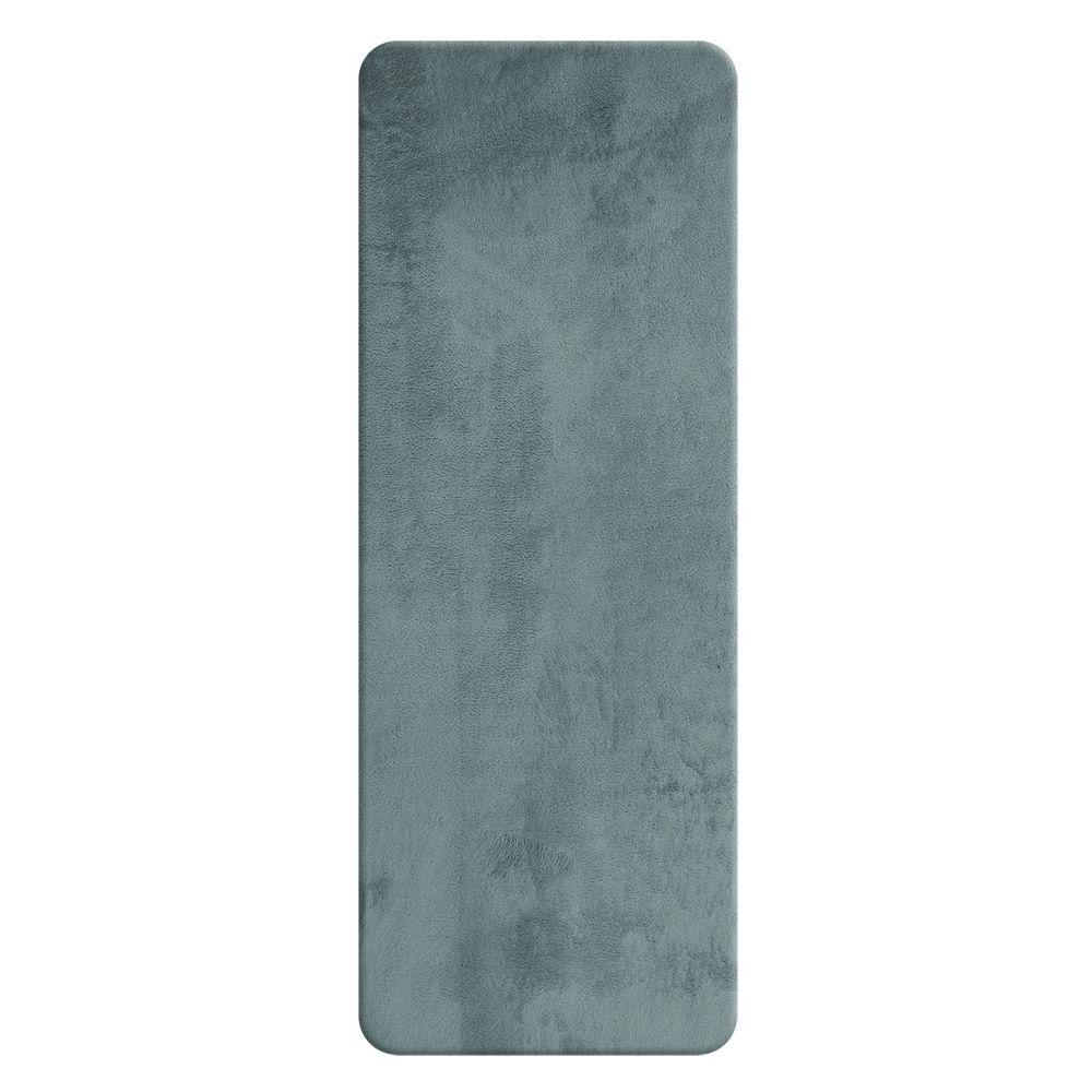 Sleep Innovations Slate 24 in. x 60 in. Bath Rug Runner