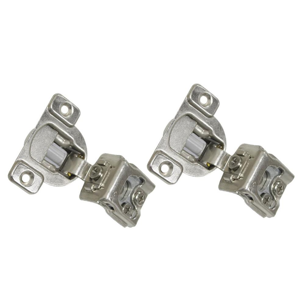 Kingsman Hardware 1 1 2 In Overlay 35 Mm 110 Degree Soft Close Face Frame Cabinet Hinge 6 Pair