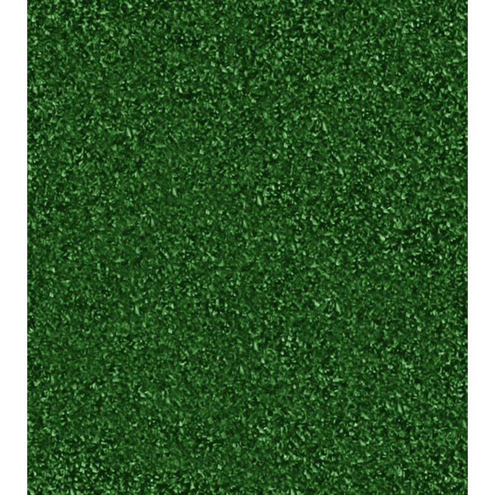 TrafficMASTER Mainstream - Color Ivy Artificial Grass 6 ft. Carpet