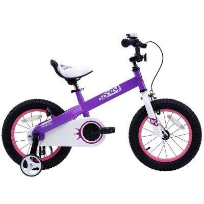 16 in. Honey Kid's Bike, Perfect Gift For Kid's, Boy's Bike, Girl's Bike, Wheels in Lilac