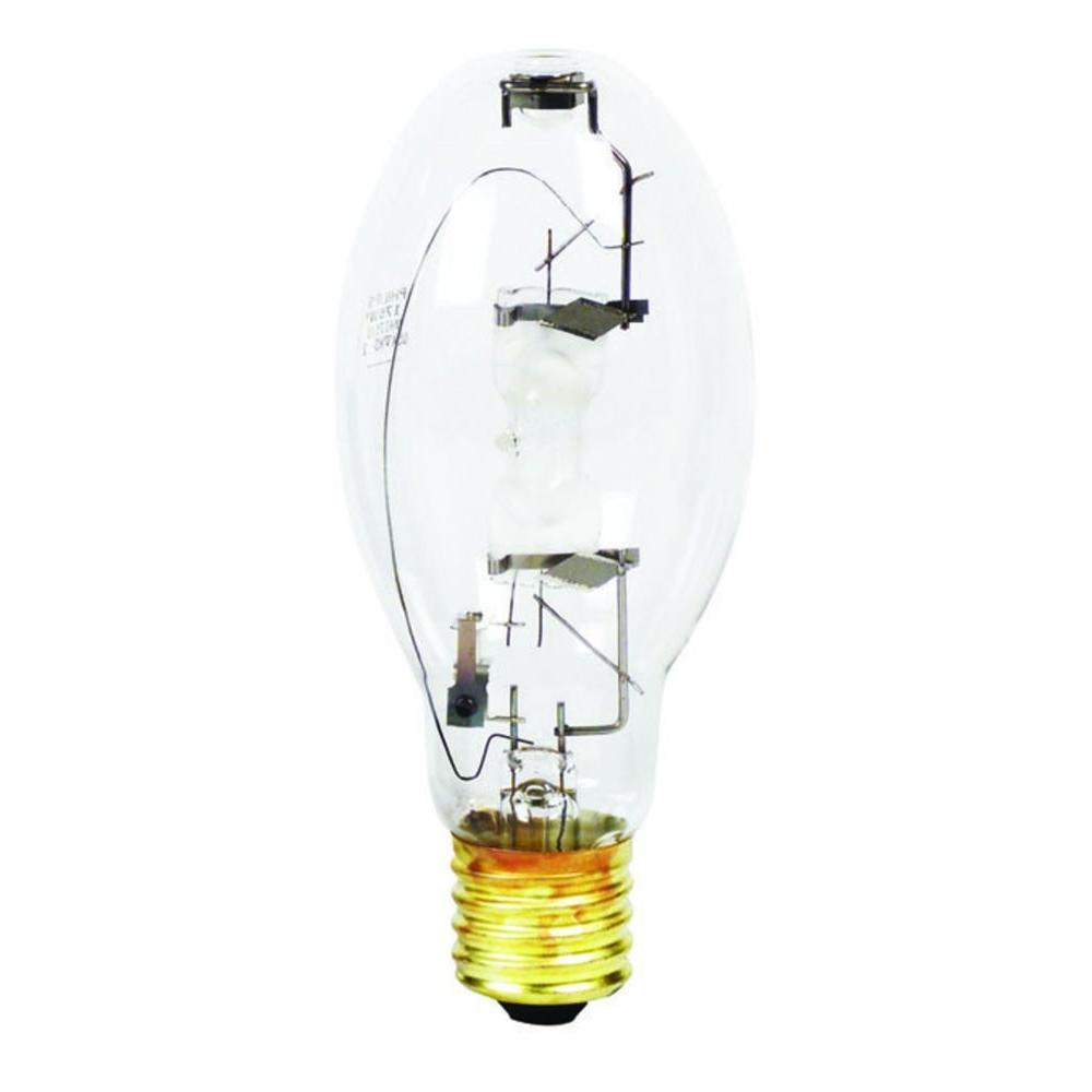 Metal Halide Lights Home Depot: Philips 175-Watt ED28 HID Clear Metal Halide Light Bulb
