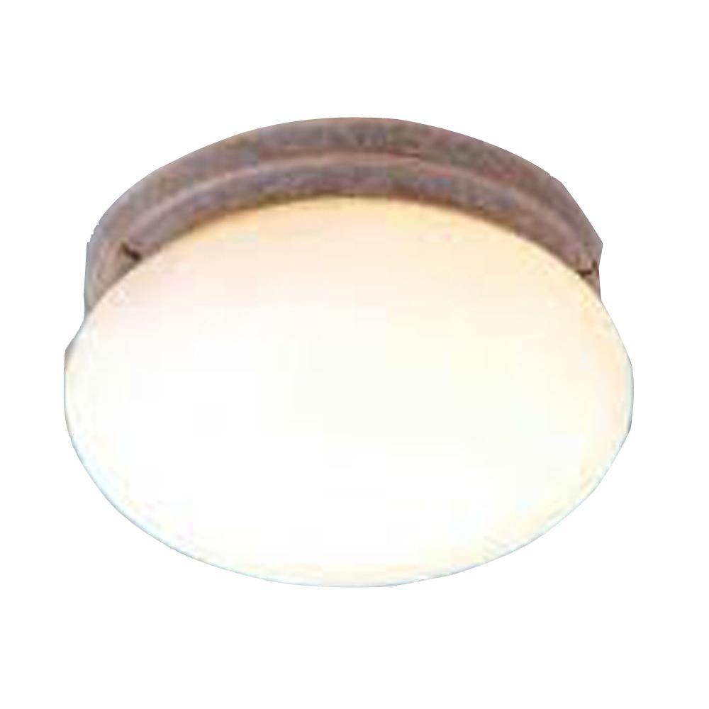 Lenor 1-Light Prairie Rock Incandescent Wall Flush Mount