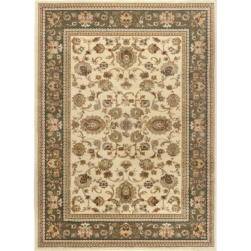 Tayse rugs sensation beige 6 ft 7 in x 9 ft 6 in for 7 x 9 dining room rugs