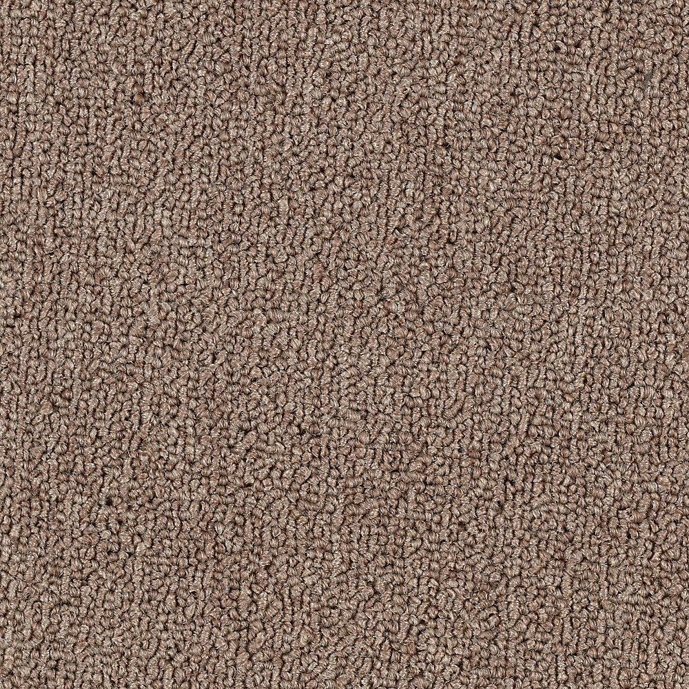 Carpet Sample - Top Rail 20 - Color Basil Loop 8 in. x 8 in.