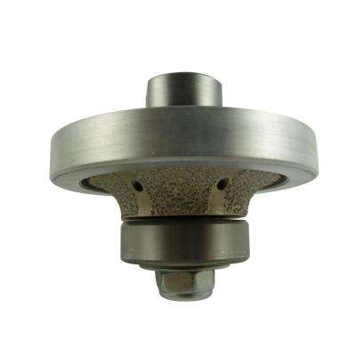 3/8 in. Radius Diamond Hand Router Bit/Profiler with 5/8 in. to 11 in. Thread