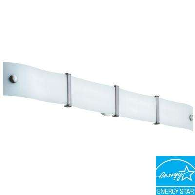 Wing 2-Light White Vanity Fixture