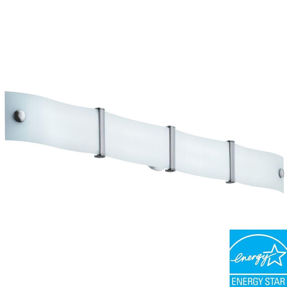 Wing 2-Light White Vanity Fixture