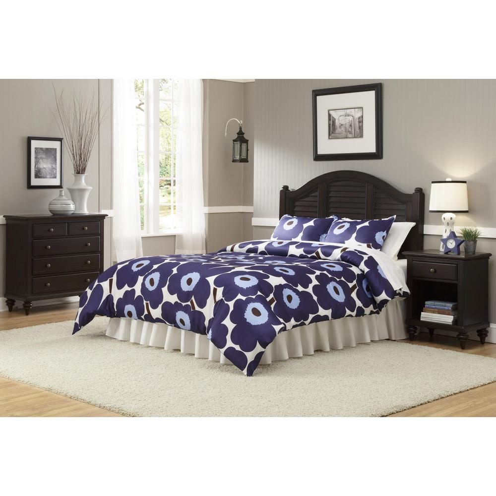 Bermuda 3-Piece Espresso Queen Bedroom Set
