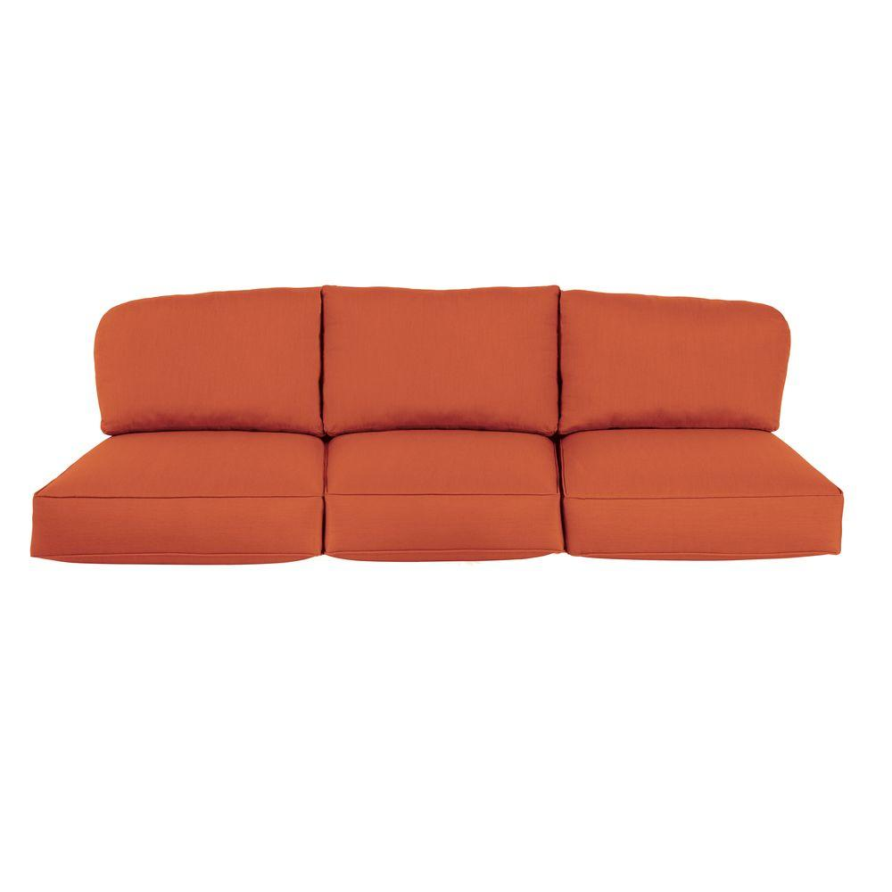 Northshore Replacement Outdoor Sofa Cushion in Cinnabar