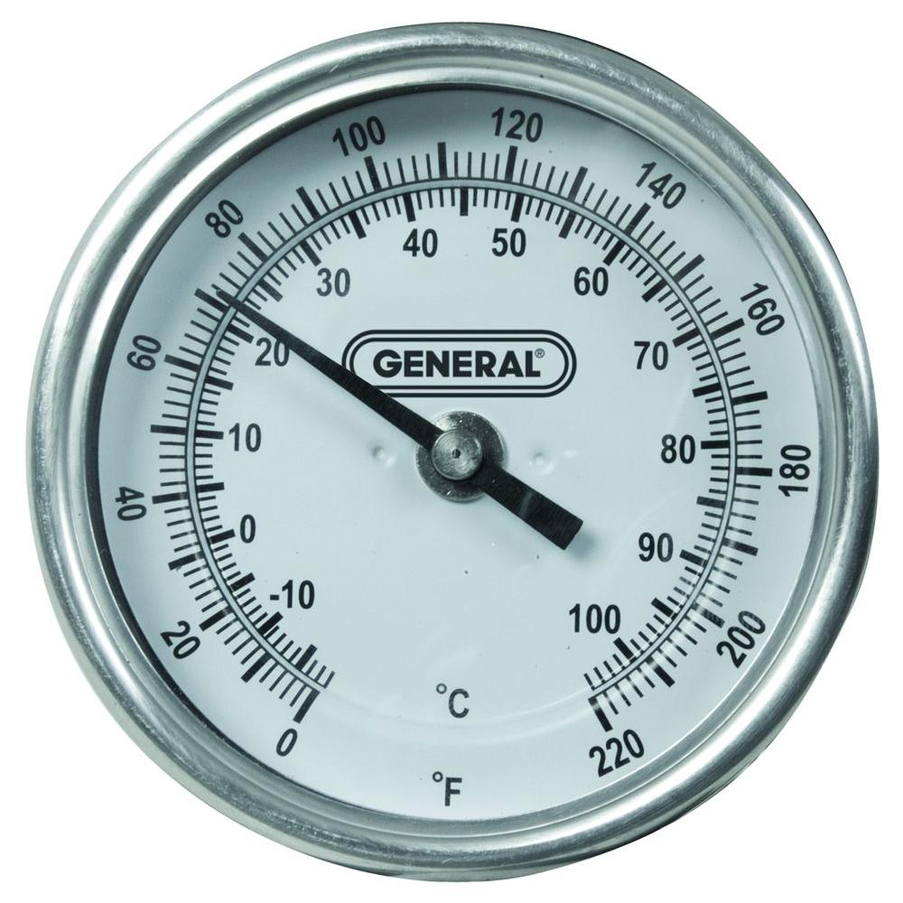 Long-Stem Agricultural Thermometer