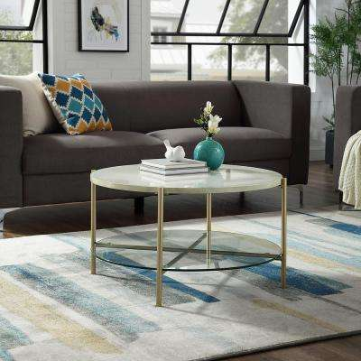 Round Mid Century Modern Coffee Tables Accent Tables The