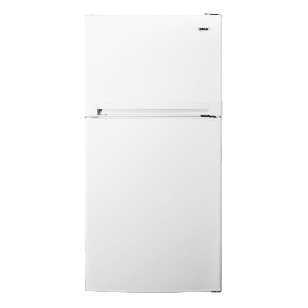 Summit Appliance 11.8 cu. ft. Top Freezer Refrigerator in White-DISCONTINUED