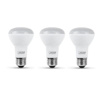 45-Watt Equivalent R20 Dimmable CEC Title 24 Compliant LED ENERGY STAR 90+ CRI Flood Light Bulb Bright White (3-Pack)