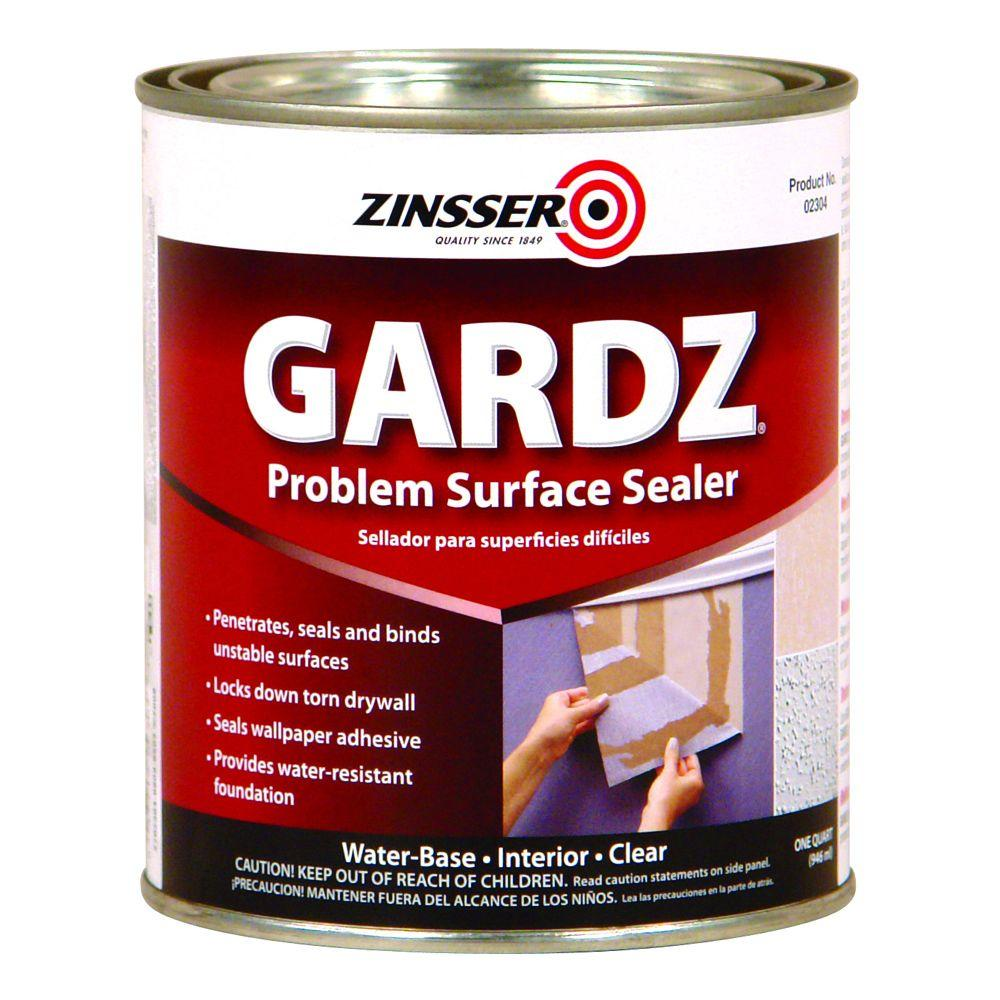 1-qt. Gardz Clear Water Base Drywall Primer and Problem Surface Sealer