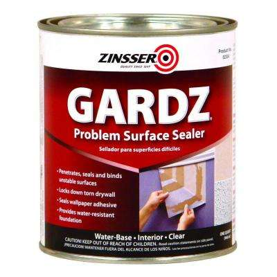 1-qt. Gardz Clear Water Base Drywall Primer and Problem Surface Sealer (Case of 6)