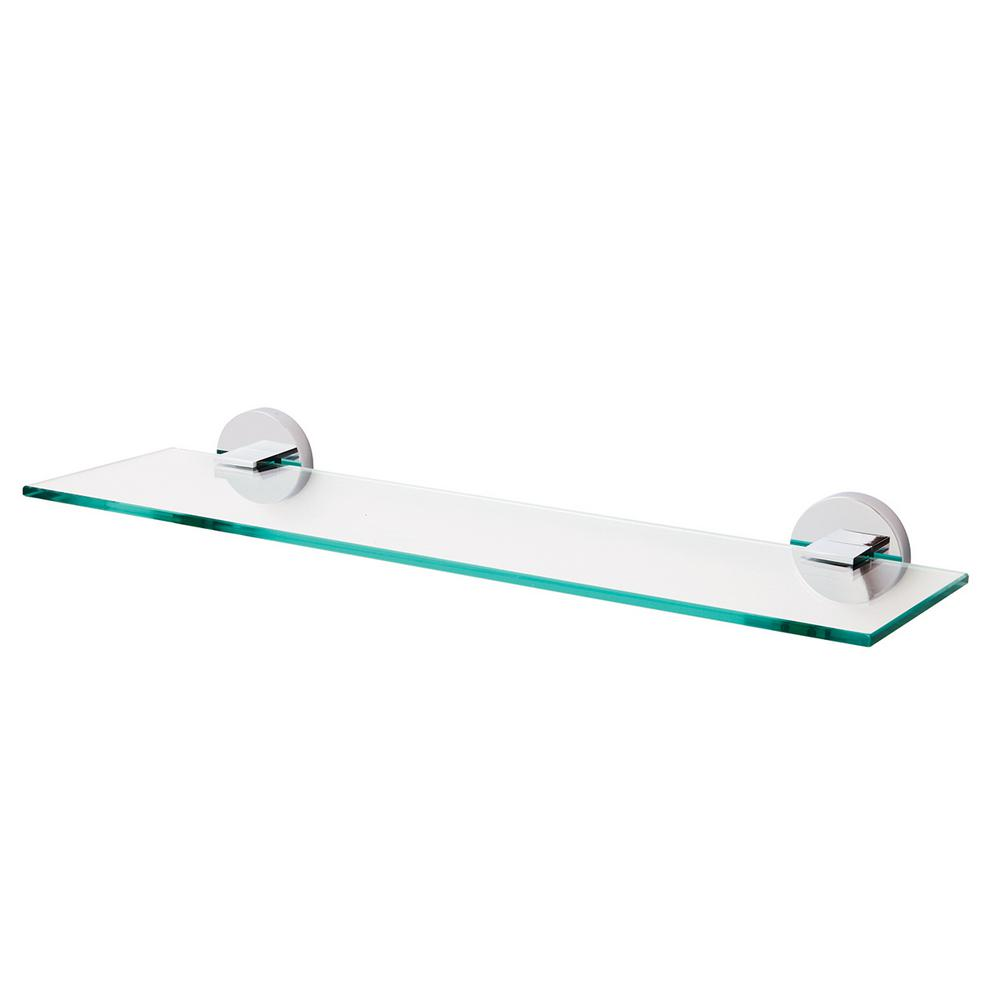 itm wall tier shelf name glass mounted bathroom mount details style zenna about home shelves chrome