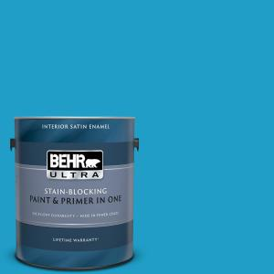 Behr Ultra 1 Gal T12 8 Reboot Eggshell Enamel Interior Paint And Primer In One 275301 The Home Depot