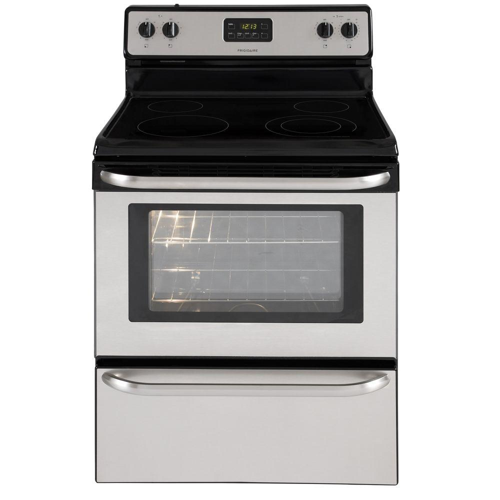 Frigidaire 4.8 cu. ft. Electric Range in Stainless Steel