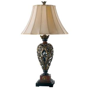 Kenroy Home Iron Lace 33 inch Golden Ruby Table Lamp by Kenroy Home