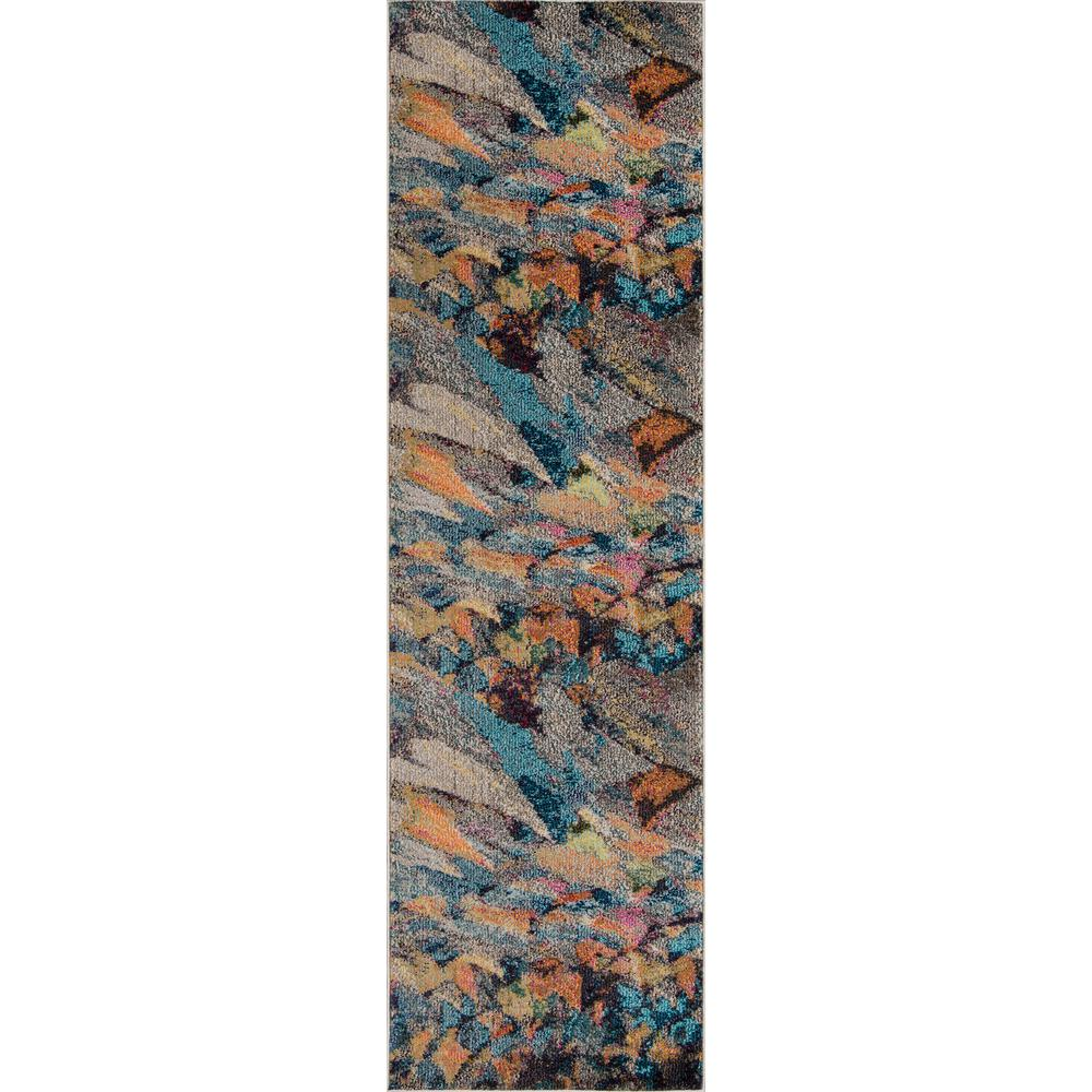 Momeni Casa Multi 2 ft. 3 in. X 7 ft. 6 in. Indoor Runner Rug