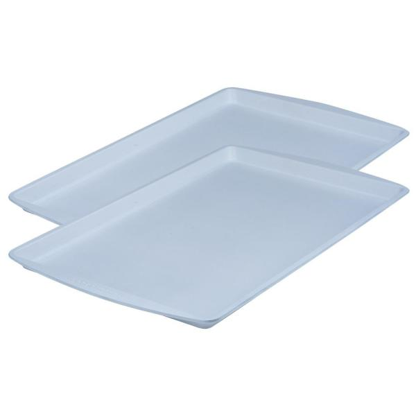 CeramaBake 11 in. x 17 in. Cookie Sheet (2-Pack) 1811