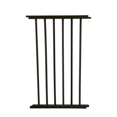 30.5 in. H x 20 in. W x 2 in. D Extension for the Versa Gate Black