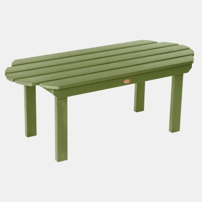 Classic Westport Dried Sage Rectangular Plastic Outdoor Coffee Table