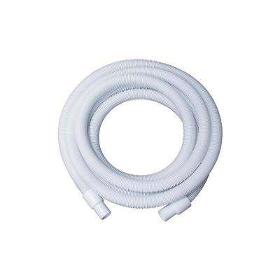 50 ft. x 1.25 in. White Blow-Molded LDPE In-Ground Swimming Pool Vacuum Hose