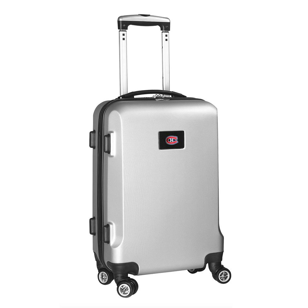 DENCO NHL Montreal Canadians Silver 21 in. Carry-On Hardc...
